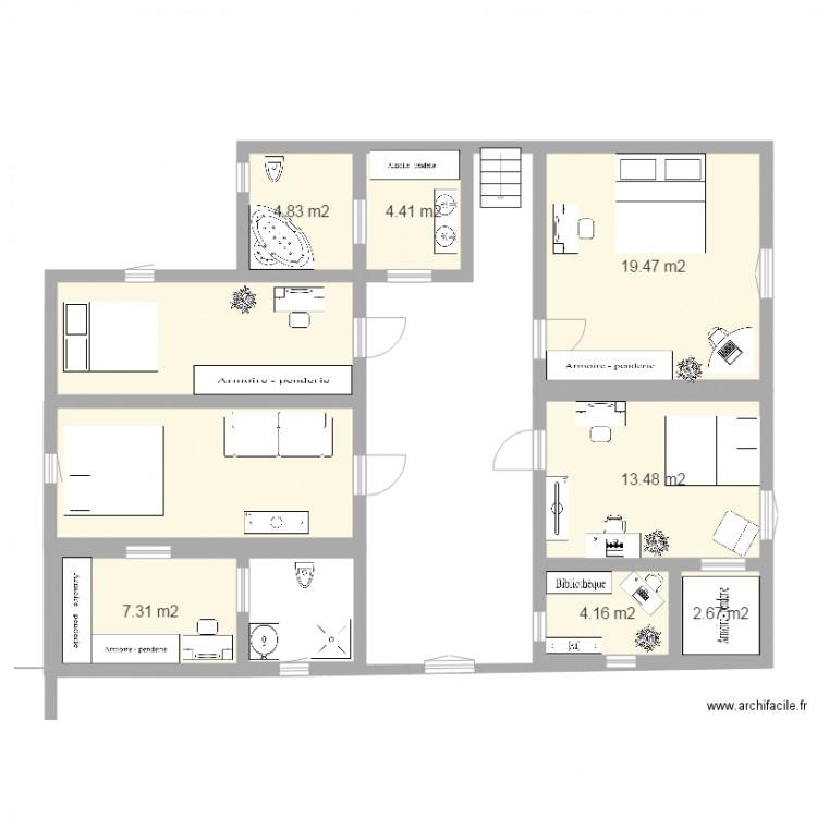 1er tage de ma maison de r ve plan 8 pi ces 100 m2