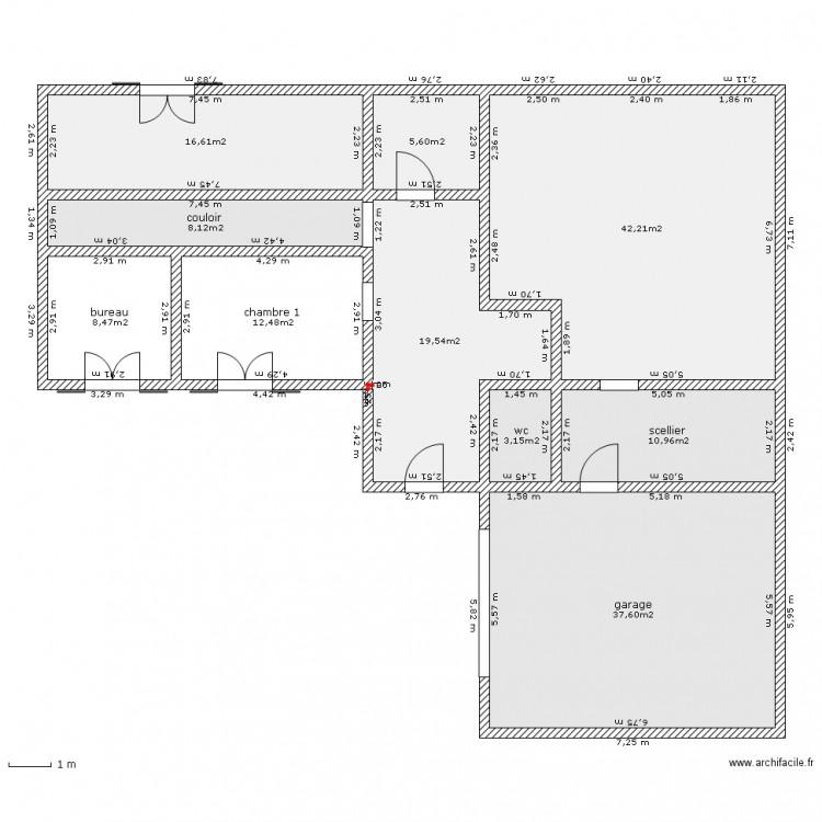 maison avec tour plan de 10 pices et 165 m2