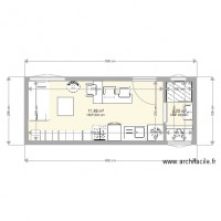 Plan Tiny House 650cm