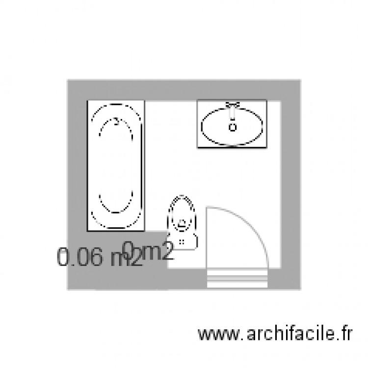 Salle de bain haut plan 2 pi ces 0 m2 dessin par gingin65 for Salle de bain 2 m2