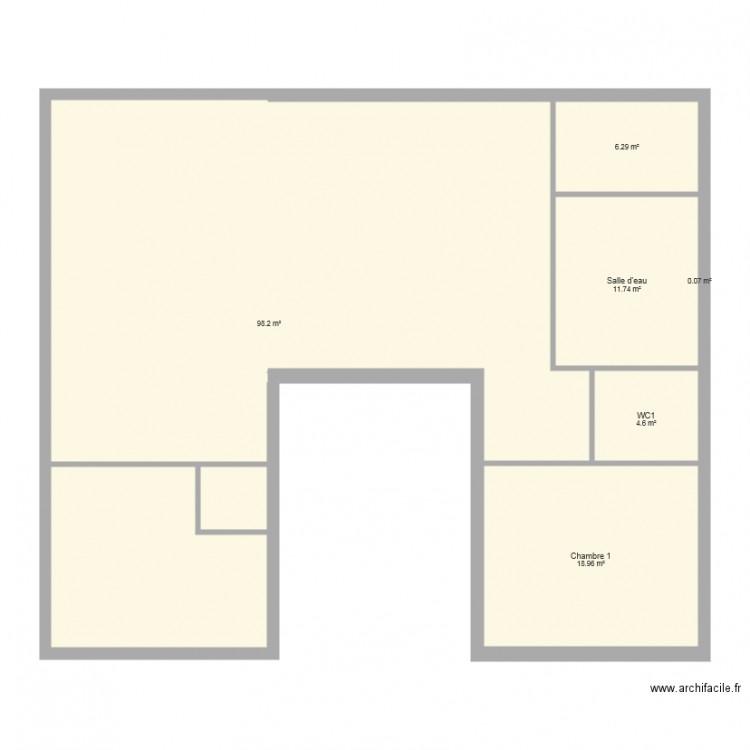 Maison container plan 6 pi ces 140 m2 dessin par maroteau - Consommation electrique moyenne maison 140 m2 ...