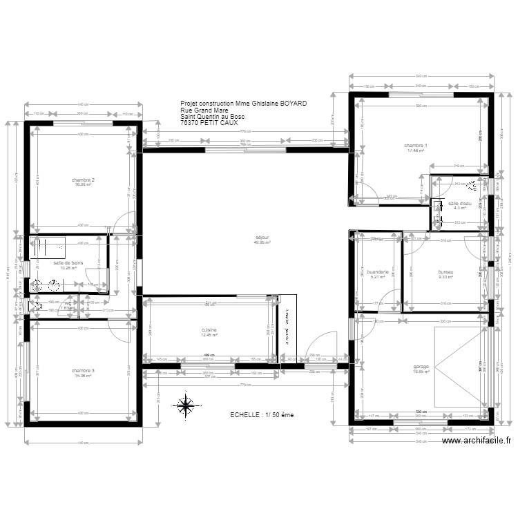 Maison Plan Interieur Plan 11 Pieces 162 M2 Dessine Par Nouvellemaison