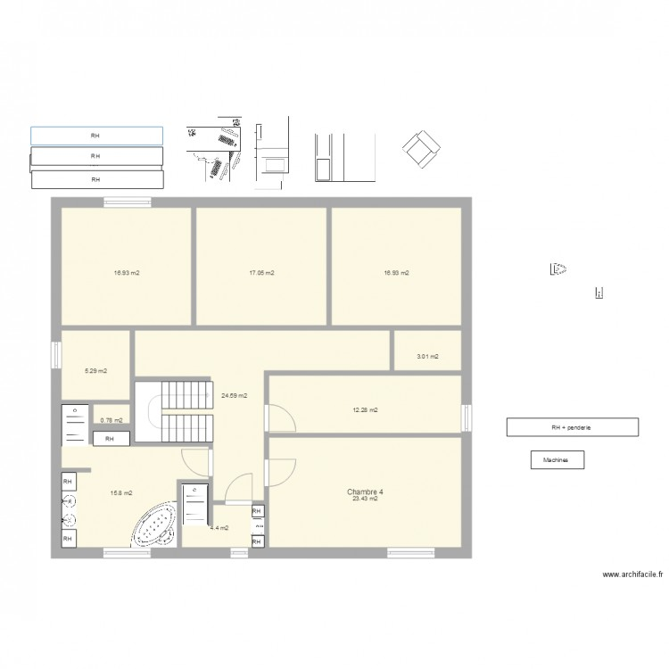 Plan Maison Etage 140 M2 | Ventana Blog