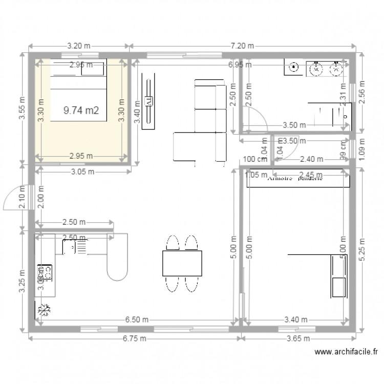 plan de maison f3
