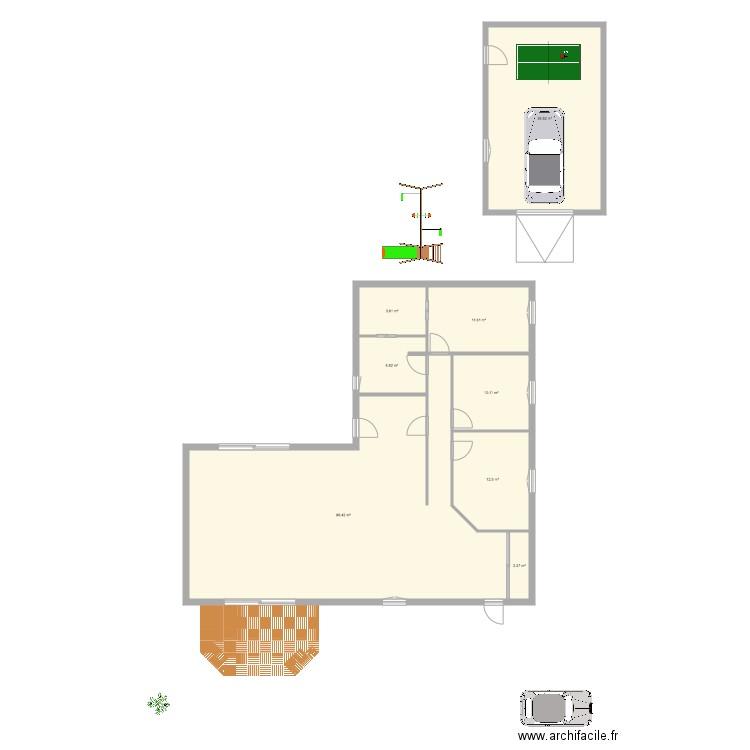 Maison plan 8 pi ces 172 m2 dessin par vinzzouze for Aides pour maison de retraite