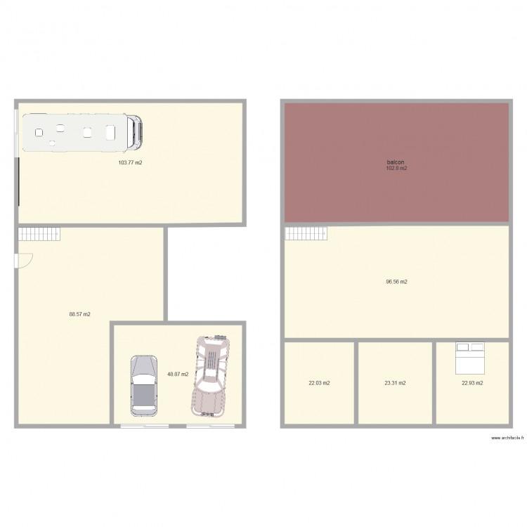 A venir plan 8 pi ces 509 m2 dessin par karie3 for 509 plans