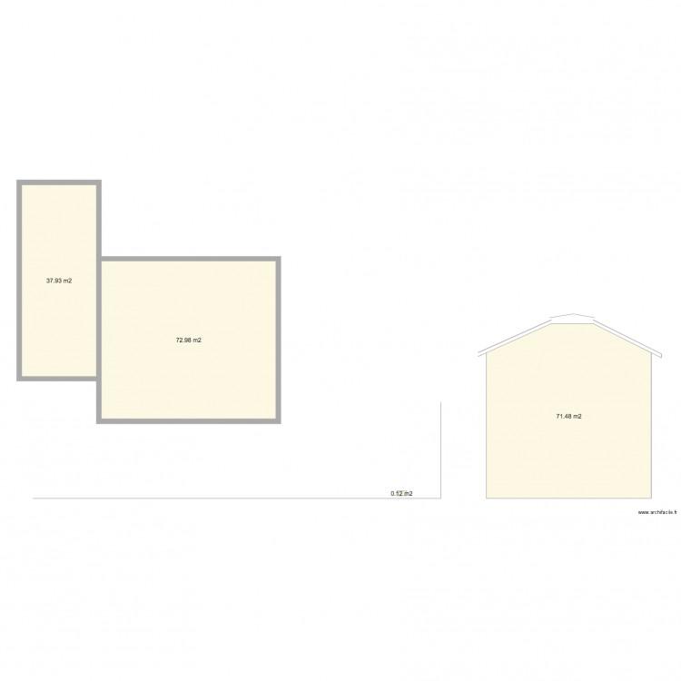 dp4 plan des facades et des toitures plan 4 pi ces 183 m2 dessin par bpouyet. Black Bedroom Furniture Sets. Home Design Ideas