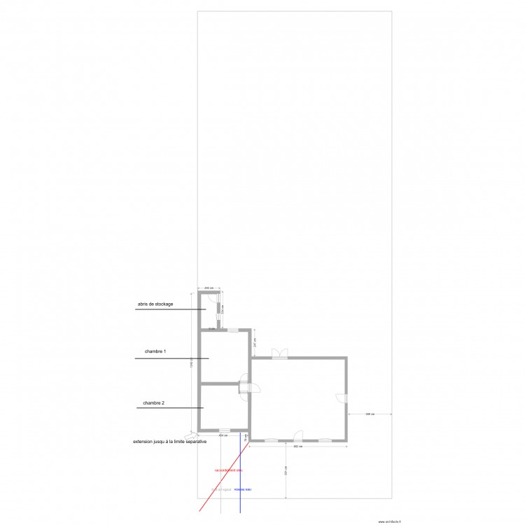 Plan De Masse Cote Dans Les 3 Dimension 1 Plan 5 Pieces 852 M2