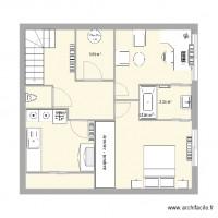 plan maison 50 m carre