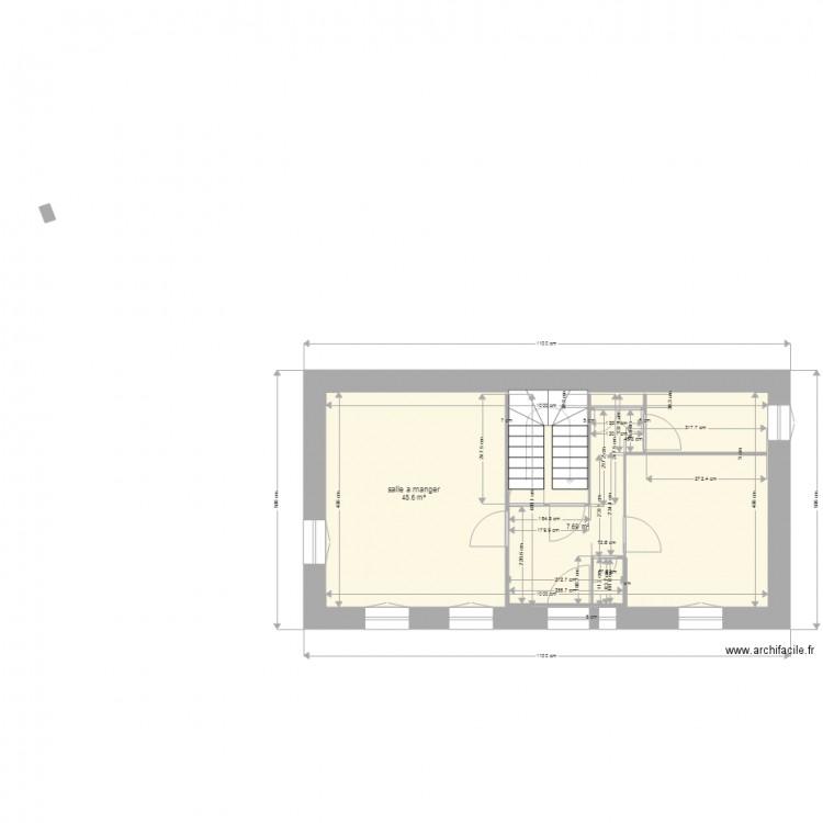 St mammes1 plan 2 pi ces 56 m2 dessin par st mammes for Garage garcia saint mammes