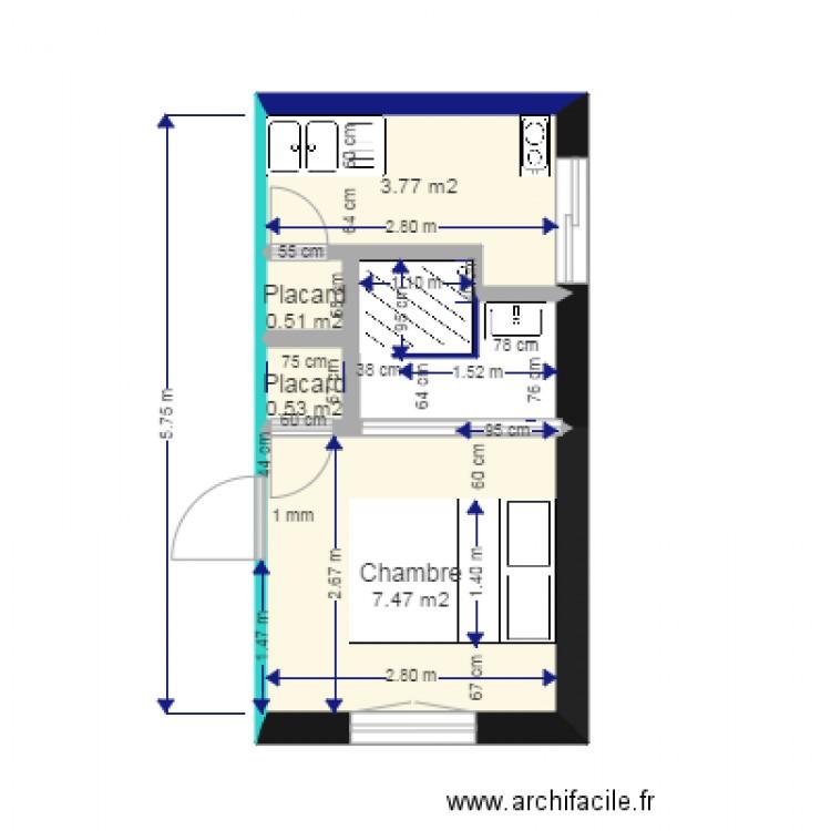Version 2 lit 140 plan 4 pi ces 12 m2 dessin par terschi - Consommation electrique moyenne maison 140 m2 ...