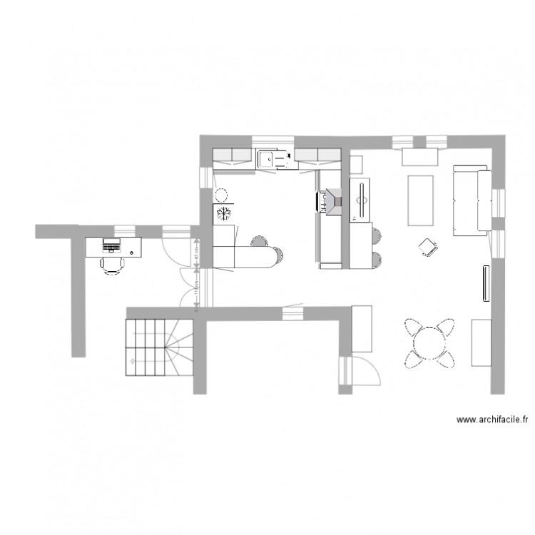 Am nagement cuisine 3 plan dessin par fontvieille13990 - Plan amenagement cuisine ...