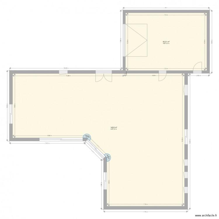 Maison Plan 2 Pi Ces 181 M2 Dessin Par Mike Ferreira