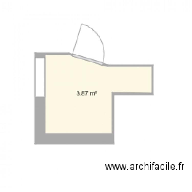 Salle De Bain Plan 1 Pi Ce 4 M2 Dessin Par Llecam